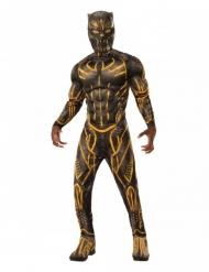 Killmonger™-Marvel Lizenzkostüm Black Panther schwarz-gelb