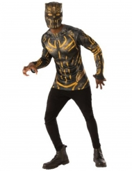 Killmonger™-Herrenkostüm Lizenz Black Panther™ schwarz-gelb