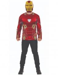 Iron man Infinity War™-Kostümset für Erwachsene 2-teilig rot-gold