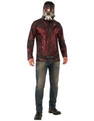Star-Lord™-Herrenkostüm Marvel™ rot-grau