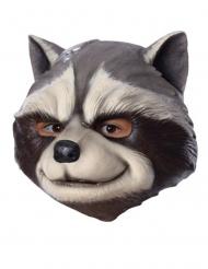 Rocket Raccoon™-Lizenzmaske für Erwachsene grau-weiss
