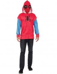 Spiderman™-Kapuzenjacke mit Maske für Erwachsene Homecoming™ rot-blau
