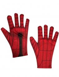 Spiderman™-Handschuhe Lizenz-Zubehör für Erwachsene rot-schwarz