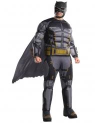 Batman™ Tactical Kostüm für Herren Übergröße Lizenz schwarz-grau