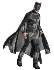 Batman™-Deluxe Kostüm für Herren Lizenz Justice League™ schwarz-grau-gold