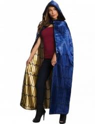 Wonder Woman™ Kostümumhang für Damen blau-gold-schwarz