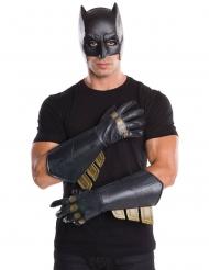 Batman™-Handschuhe für Erwachsene Justice League schwarz-gold