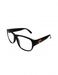 Clark Kent™-Rahmenbrille Kostümzubehör schwarz