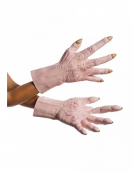 Snoke-Handschuhe Star Wars™-Zubehör hautfarben