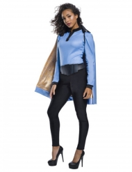 Lando Calrissian™-Lizenzkostüm für Damen blau-schwarz-gold