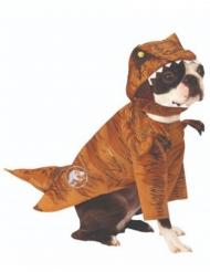 T-Rex Kostüm für Hunde Jurassic World Fallen Kingdom™ braun-weiss-gelb