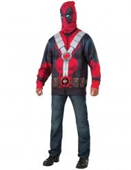 Deadpool™-Jacke für Herren Kostümzubehör rot-schwarz-grau