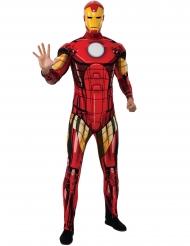 Iron Man™-Deluxekostüm für Erwachsene Marvel™-Lizenz rot-gelb