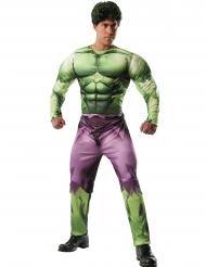 Hulk™-Deluxe Kostüm für Erwachsene Karneval grün-lila