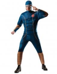 Cyclops-Kostüm für Herren X-Men Lizenz-Verkleidung blau-braun
