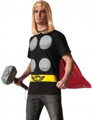 Thor™-T-Shirt mit Umhang Lizenz-Set schwarz-gelb-rot