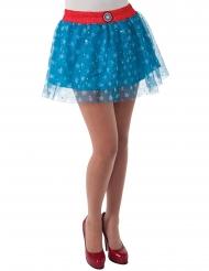 Captain America™-Petticoat für Damen Kostümzubehör blau-rot-weiss