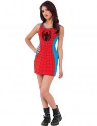 Spidergirl™-Damenkostüm Marvel-Lizenz rot-blau-schwarz