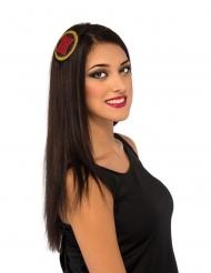 Black Widow™ Haarreif schwarz-rot-gelb