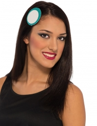 Iron Man™-Haarschmuck für Damen blau-weiss