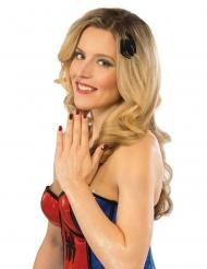 Spidergirl™ Make-up-Set für Damen 12-teilig rot-schwarz