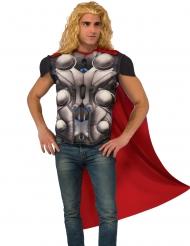 Thor™-T-Shirt mit Umhang Marvel™-Superheld grau-rot