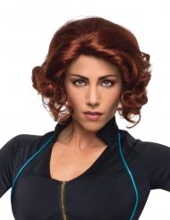Black Widow™-Perücke für Damen Kostümzubehör rot-braun