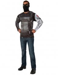 Winter Soldier Captain America™ Civil War Herrenkostüm grau-schwarz