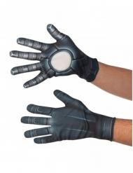 Captain America™ Lizenz-Handschuhe Zubehör grau-weiss