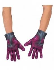 Captain America™-Handschuhe für Superhelden grau-rot