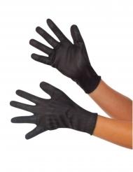 Black Widow™-Handschuhe für Erwachsene Captain America Civil War™  schwarz