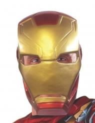 Iron Man™-Halbmaske Civil War Kostümzubehör rot-gold