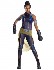 Prinzessin Shuri™-Damenkostüm Superheldin blau-gold-schwarz