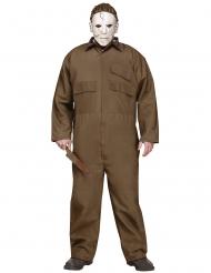 Michael Myers™-Serienkiller-Kostüm in Übergröße Halloween khakifarben