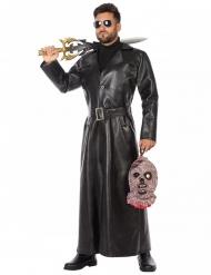 Mörderisches Vampir-Kostüm für Herren Halloween schwarz