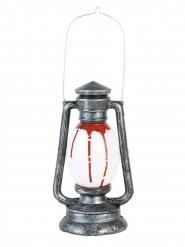 Öllampe Halloween-Dekoration animiert silber