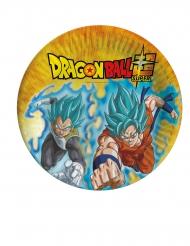 Dragon Ball Super™-Pappteller Kindergeburtstag für Kinder 8 Stück bunt 23cm