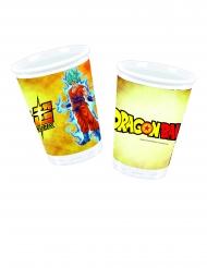 Dragon Ball™-Kunststoff-Becher 8 Stück bunt 200ml