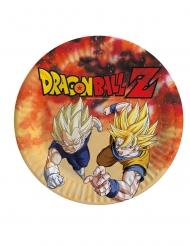 Dragon Ball Z™-Gogeta & Vegeta Pappteller 8 Stück bunt 23cm
