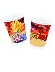 Dragon Ball Z™-Trinkbecher Gogeta Tischzubehör Kindergeburtstag 8 Stück bunt 200ml