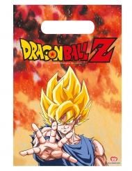 Dragon Ball Z™-Geschenktüten Kindergeburtstag 6 Stück bunt 23x16cm