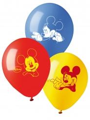 Mickey™-Luftballons Kindergeburtstag 10 Stück bunt 28cm