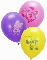 Minnie Maus™-Luftballons Mädchen-Geburtstag 10 Stück bunt 28cm