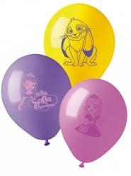 Sofia die Erste™-Ballons 10 Stück lila-rosa-gelb