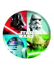 Star Wars™-Teller Tischzubehör Kindergeburtstag bunt 21cm