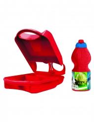 Star Wars™-Brotbox und Trinkflasche-Set rot-bunt 24x15cm
