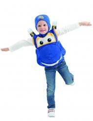 Jeroma Kinderkostüm Super Wings™-Lizenz-Verkleidung blau-gelb-weiss