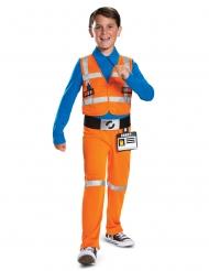 Lego™-Figur Emmet Kostüm für Kinder Lizenz-Lego 2 bunt