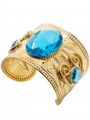 Antikes Ägyptisches Armband Kostüm-Accessoire blau-goldfarben
