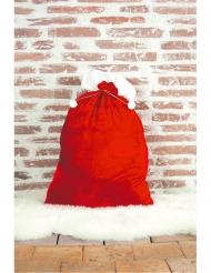 Geschenkesack für Weihnachten Nikolaus-Zubehör rot-weiss 48 x 75 cm